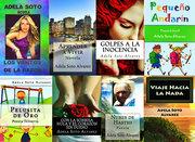 POSTER CON LIBROS DE LITERATURA PUBLICADOS
