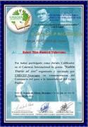 reconocimiento como jurado concurso ruben dario 2016