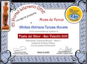 CERTIFICADOS FIESTA DEL AMOR- UHE-2O18
