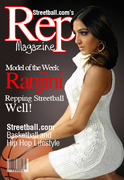 Ranjini on the Cover of Streetball.com's Rep Magazine