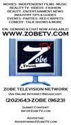 Zobe TV Business Card