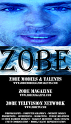 Zobe Advertisement Business Card