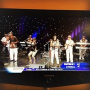 On Chicago's WGN with my hubby Brotherslide and The Keepers of the Funk