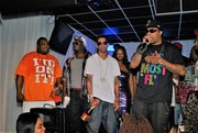 On stage with Lil Flip