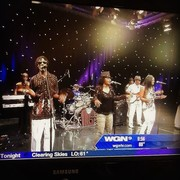 On TV Chicago's WGN with my hubby Brotherslide and The Keepers of the Funk