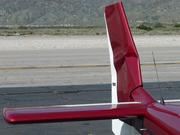 Hit and run; rudder damaged and repaired