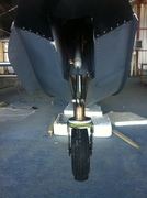 New nose wheel frontv view