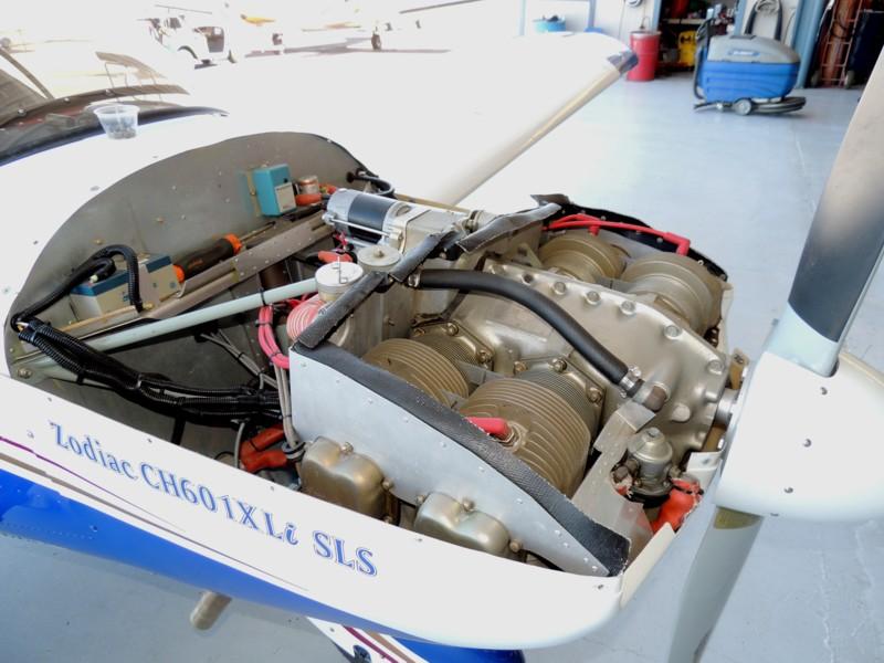N601KE O-200 Engine