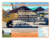 Kern Valley Backcountry Fly-In May 5th-7th