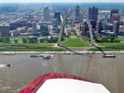 The Gateway Arch on the Mississippi River