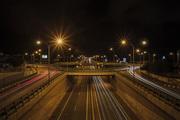 Linopetra junction in Limassol at night