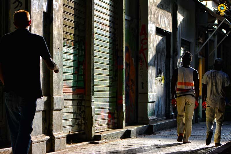 Στα στενάκια της Αθήνας
