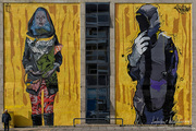Graffiti στο κτήριο της ΕΡΤ3 ΘΕΣΣΑΛΟΝΙΚΗ