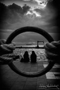 ΣΙΛΟΥΕΤΕΣ... ΚΑΔΡΟ ΣΤΟ ΚΑΔΡΟ Νέα Παραλία Θεσσαλονίκης.