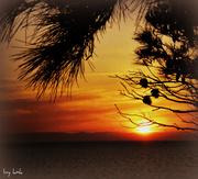 Νέα Ποτίδαια: ηλιοβασίλεμα
