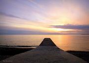 Ηλιοβασίλεμα στο Φανάρι Ροδόπης.