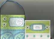 purse and card