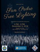 San Pedro Tree Lighting