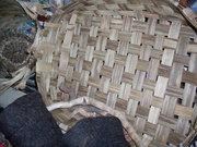 palm flat basket