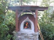 earthen oven build