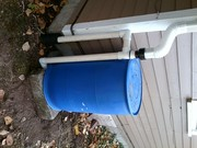 Ehben Eliot Rain Barrel Piping