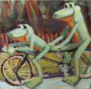 Tandem Frogs