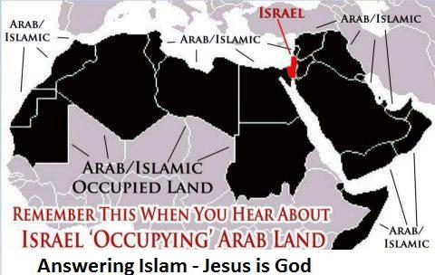 Perspective on Israel Occupying Arab Land