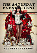 Saturday Evening Post Series by Juan Carlos Ruiz Burgos