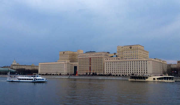 The USA, ain't? No, it's Russia. There is the building of the Ministry of Defence.