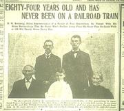 Henry and Clarinda Routsong Newspaper Article, Dayton Daily News, Dayton, Ohio