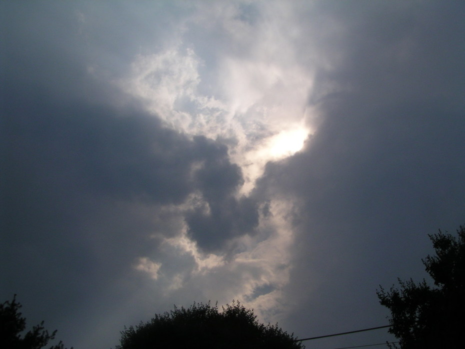 Storm coming up, Winston-Salem