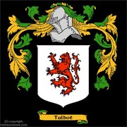 Talbot coat of arms