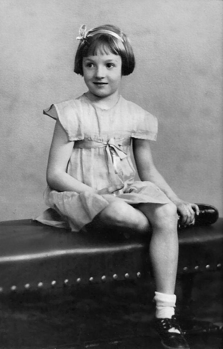Goldie Irene Diceman Keffer - Age 8