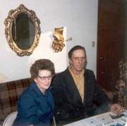 Genevieve Borgers Peterson & Marvin Lester Borgers