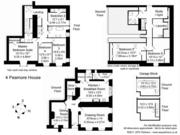 Peamore House floor plan