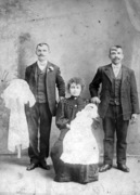 Unidentified family and friends