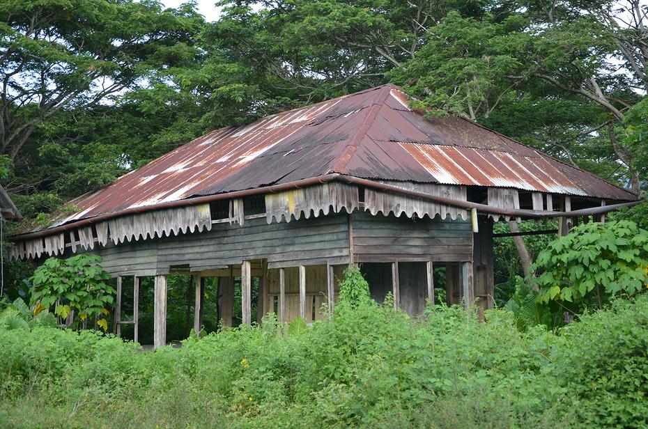 Melalap 老旧火车站