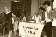 虽然分文不收,登记处的登记人员也非常专业详细的为病患者写下报告。