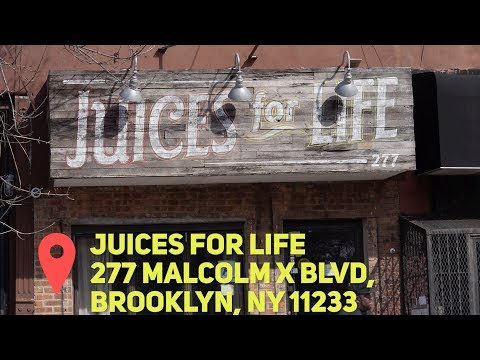 """Juices for Life"" a Juice bar owned by Jadakiss & Styles P [JL Jupiter]"