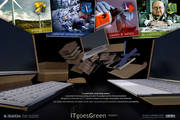 ITgoesGreen: visuals