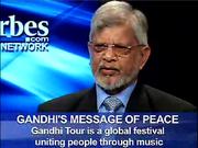 Music 4 Peace - Gandhi Tour and Dr. Arun Gandhi at Forbes TV