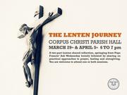 The Lenten Journey: A Shared Reflection