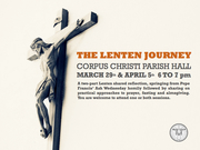 The Lenten Journey: A Shared Reflection: 2nd Session