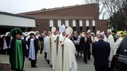 Funeral of Bishop Lacey