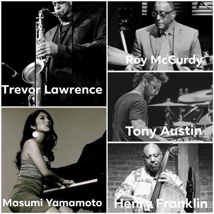 TREVOR LAWRENCE Quintet Plus Masumi YAMAMOTO, Henry FRANKLIN, Tony AUSTIN & Roy McCurdy
