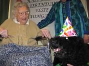 102 yr birthday party w/ Seamus