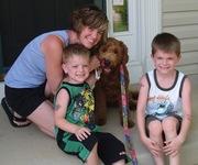 Chloe's adoptive family