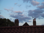 Photos of cloud formations from my flat.