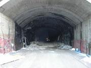 Pohlad do Juzneho tunela zo severneho portalu