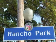 rancho park sign